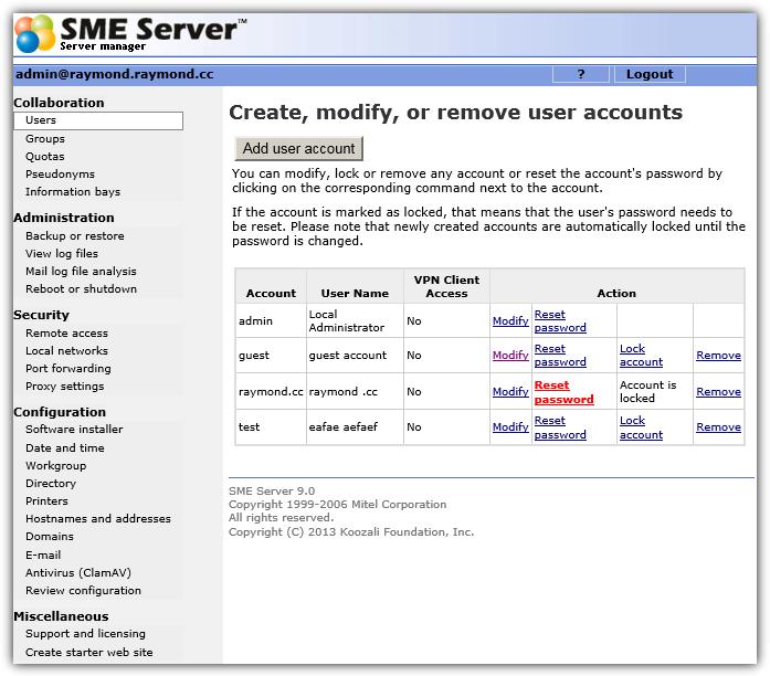 менеджер сервера смэ