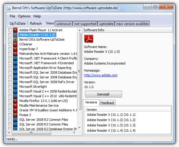 Программное обеспечение UpToDate