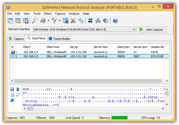 softperfect анализатор сетевых протоколов