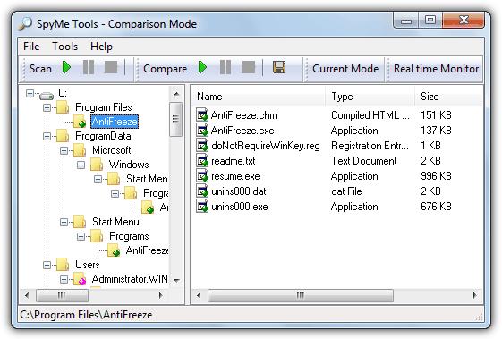 Установка монитора SpyMe Tools
