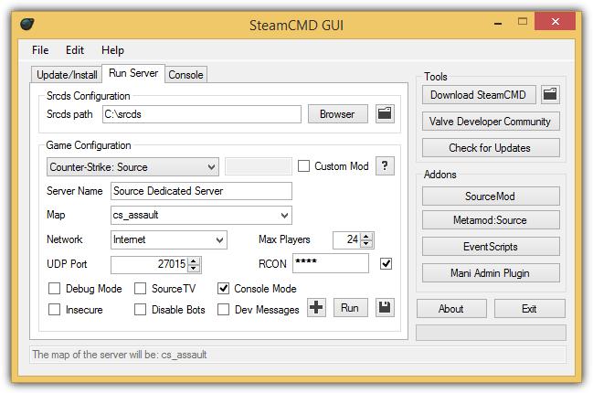 графический сервер steamcdm