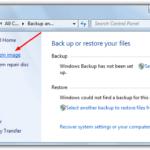 Создание образа системы Windows 7 для полного резервного копирования и восстановления