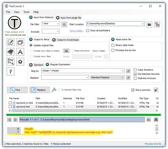 textcrawler заменяет многострочный