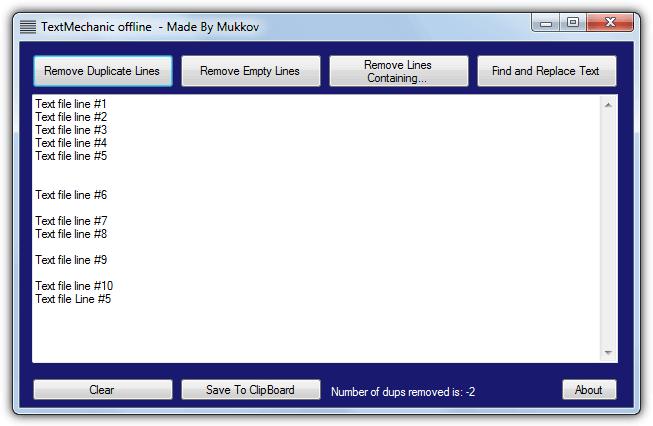 текстовый механик оффлайн