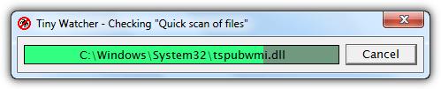 крошечная проверка запуска Windows