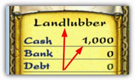 Количество стартовых динариев и звание