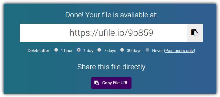 загрузить файлы