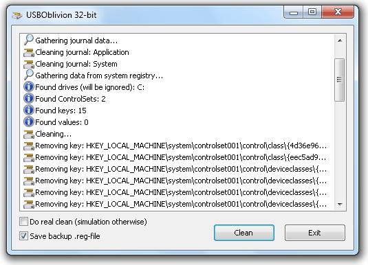 USB Обливион
