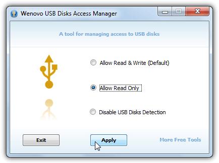Диспетчер доступа к USB-дискам