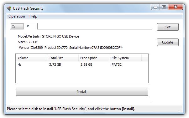 USB флэш-безопасность