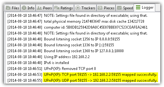 Utorrent UPNP