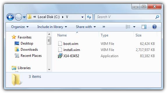 файлы Vista