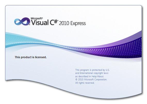 визуальная студия экспресс-заставки