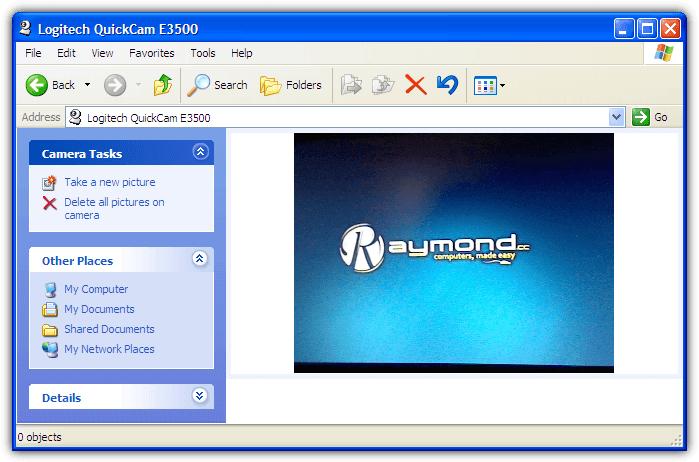 веб-камера в Windows XP мой компьютер