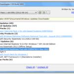 Загрузка автономных исправлений и исправлений с помощью загрузчика обновлений Windows