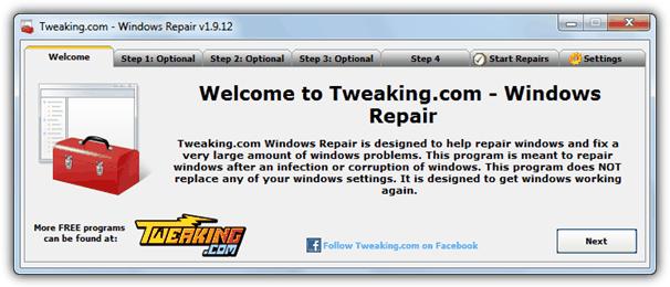 Windows Repair Tool