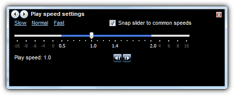 Windows Media Player настройки скорости воспроизведения