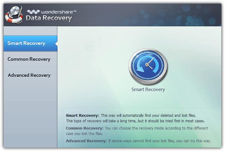 Wondershare восстановления данных