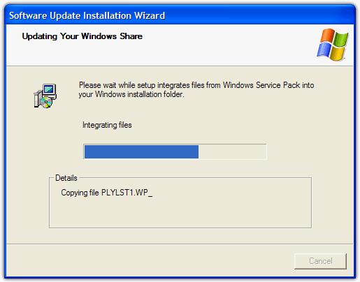 Обновление Windows Share